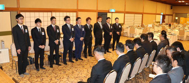 1月度仮入会会員入会式開催