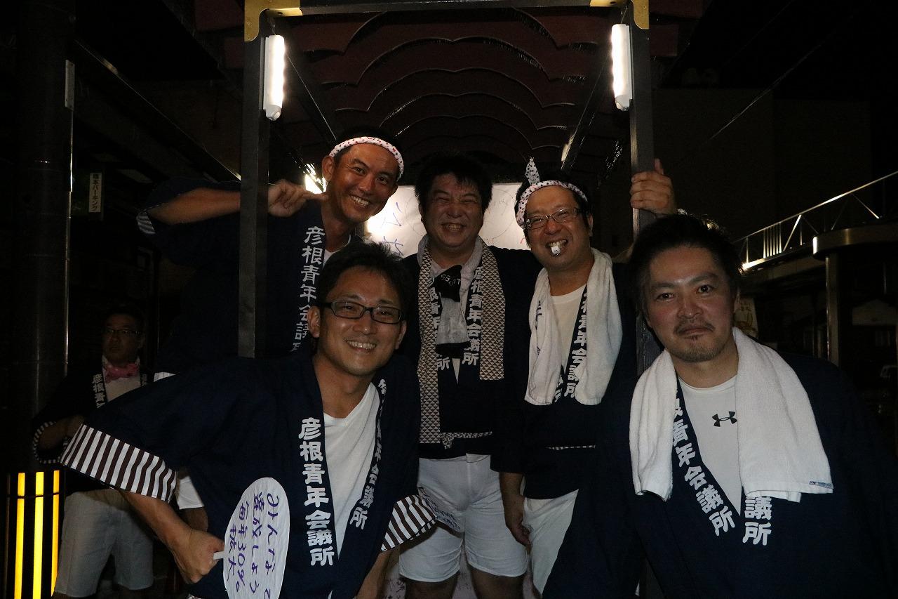 第56回彦根ばやし総おどり大会に参加しました。